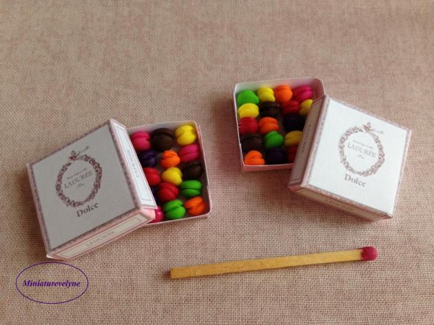 Boîte de macarons de chez Ladurée