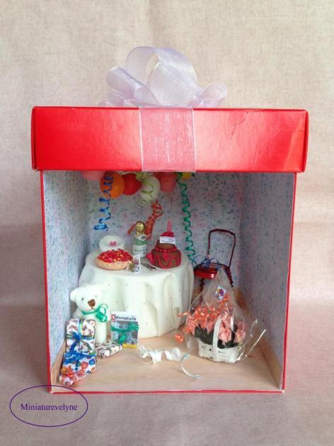 Joyeux anniversaire Bulle Miniature