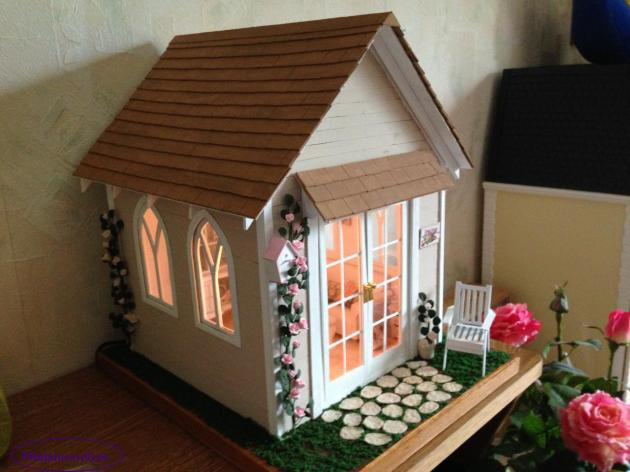 Cottage Farms Miniature Roses: My Franklin Mint Rose Cottage