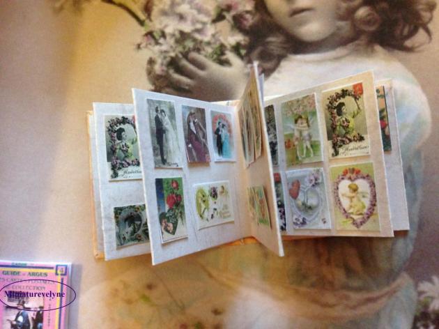 Album anciennes cartes postales de la saint Valentin
