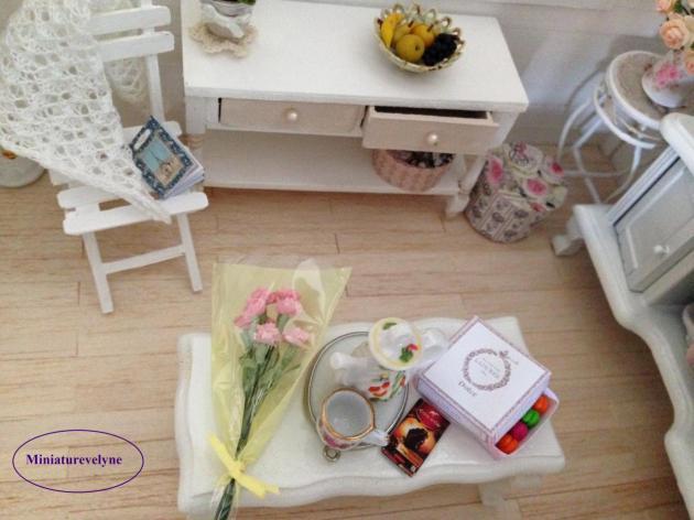 Bouquet de fleur offert par Minivale