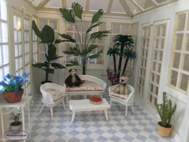 Jardin d'hiver au 1/24 ème